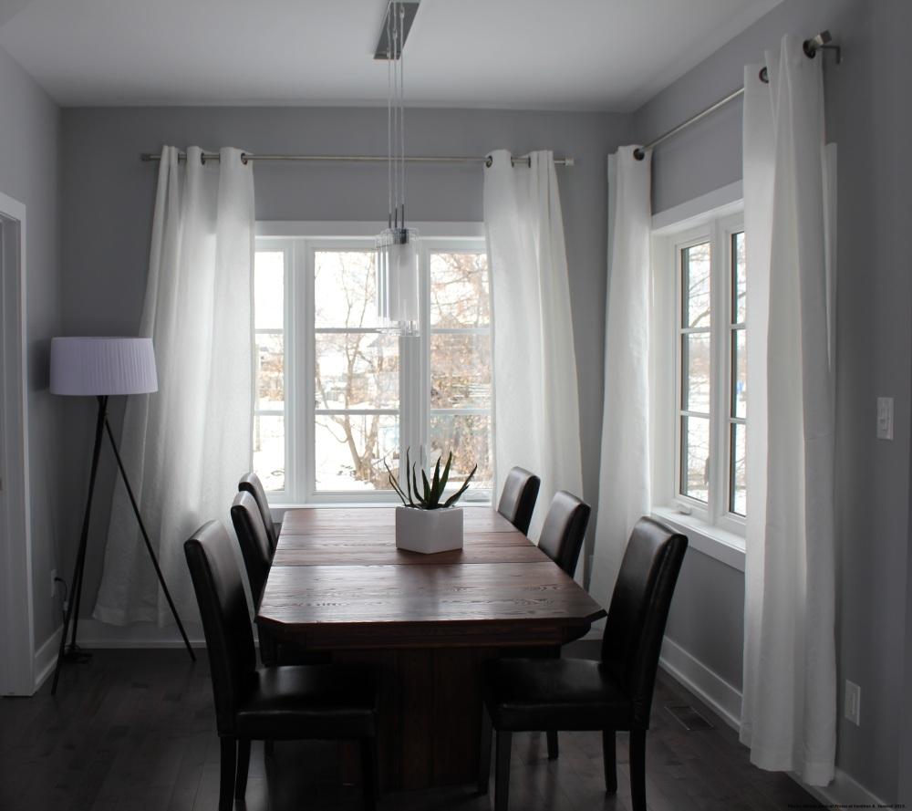 Contemporary Kitchen Window
